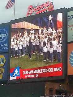 Turner Field National Anthem Performance