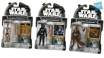 Hasbro Star Wars Droid Factory Amazon Exclusive Series - Carded Images