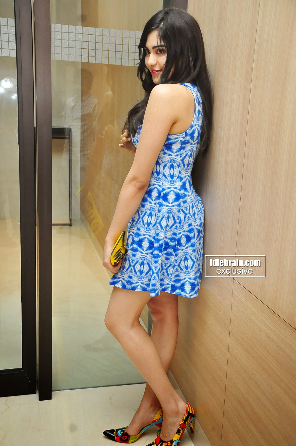 Adah Sharma short dress