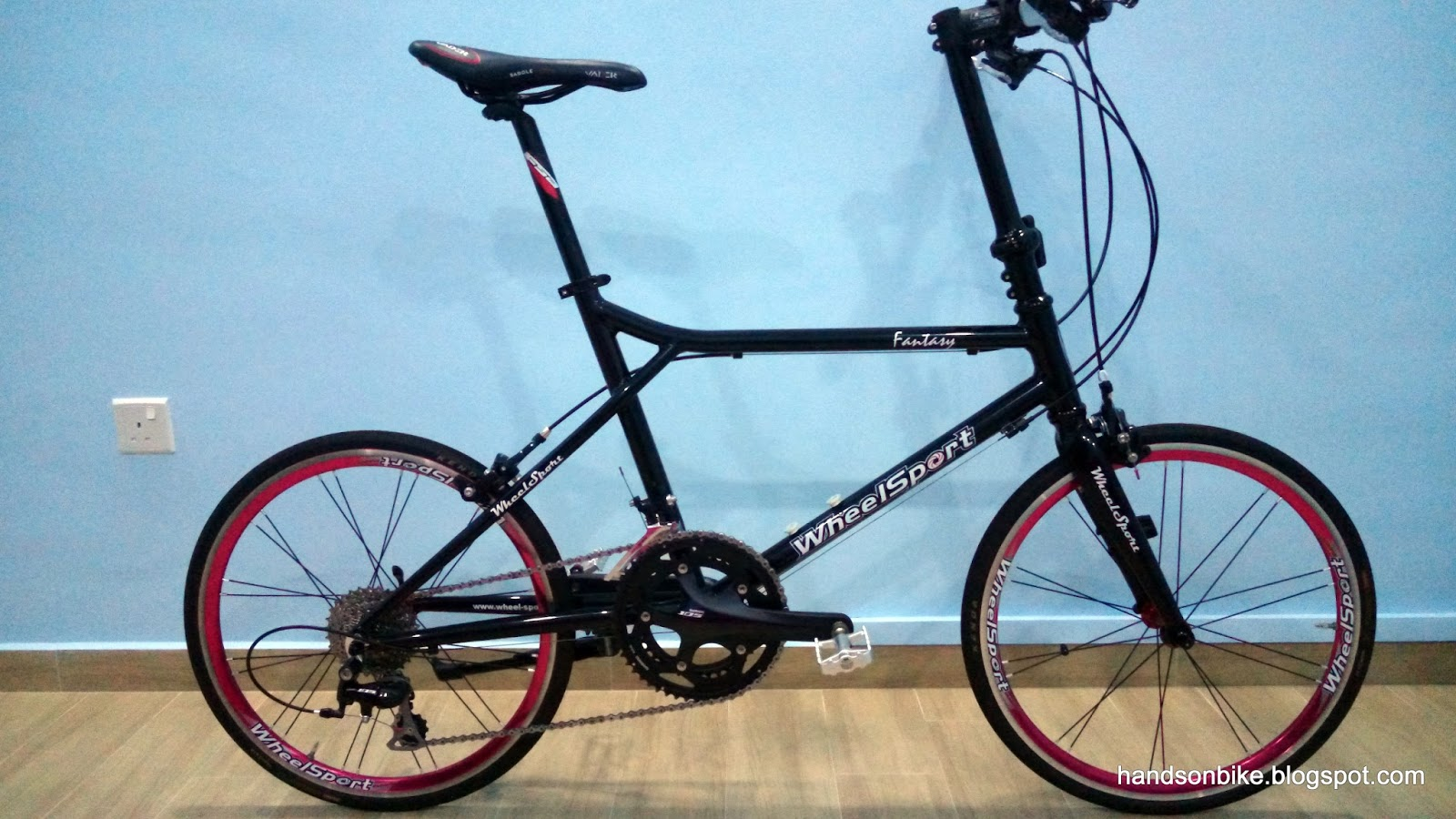hands on bike wheelsport fantasy mini velo. Black Bedroom Furniture Sets. Home Design Ideas