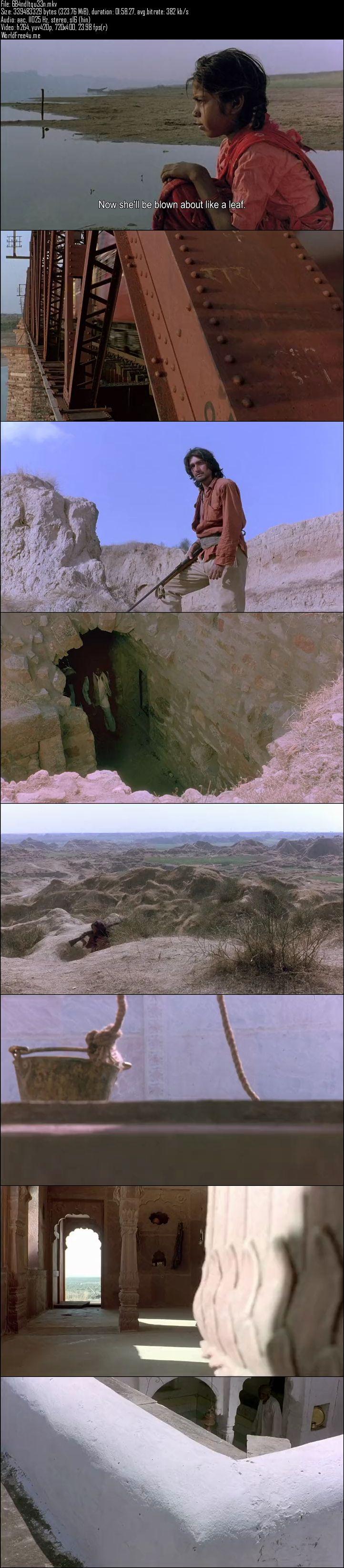 Screen Shot Of Bandit Queen 1994 Full Movie Free Download 300MB BRRip 480P ESubs Watch Online