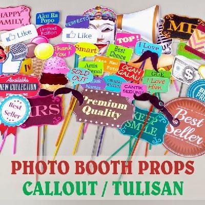 Photobooth Props Tulisan Aksesorisphotobooth Com