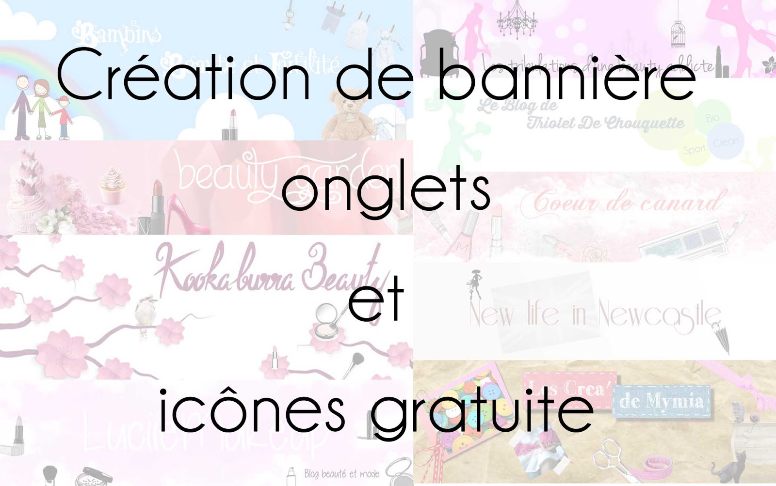 cr u00e9ation de banni u00e8re gratuite pour ton blog