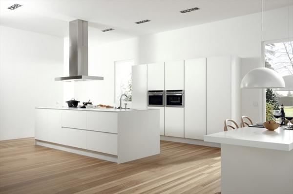diseño de cocinas blancas cocinas modernas de color blanco colores en casa