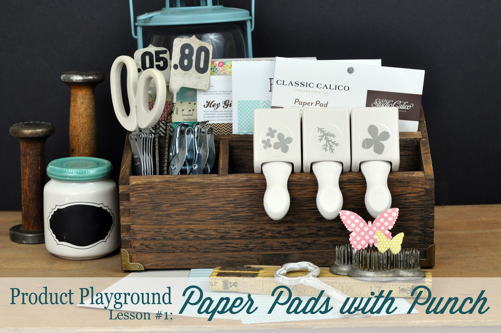 Product Playground Paper Pads with Punch by Jen Gallacher http://www.bigpictureclasses.com/classes/PP-01