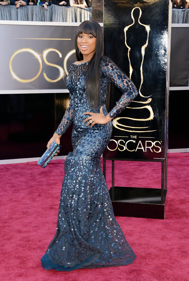 Jennifer Hudson - Celebrity Fashion at the 2013 Oscars