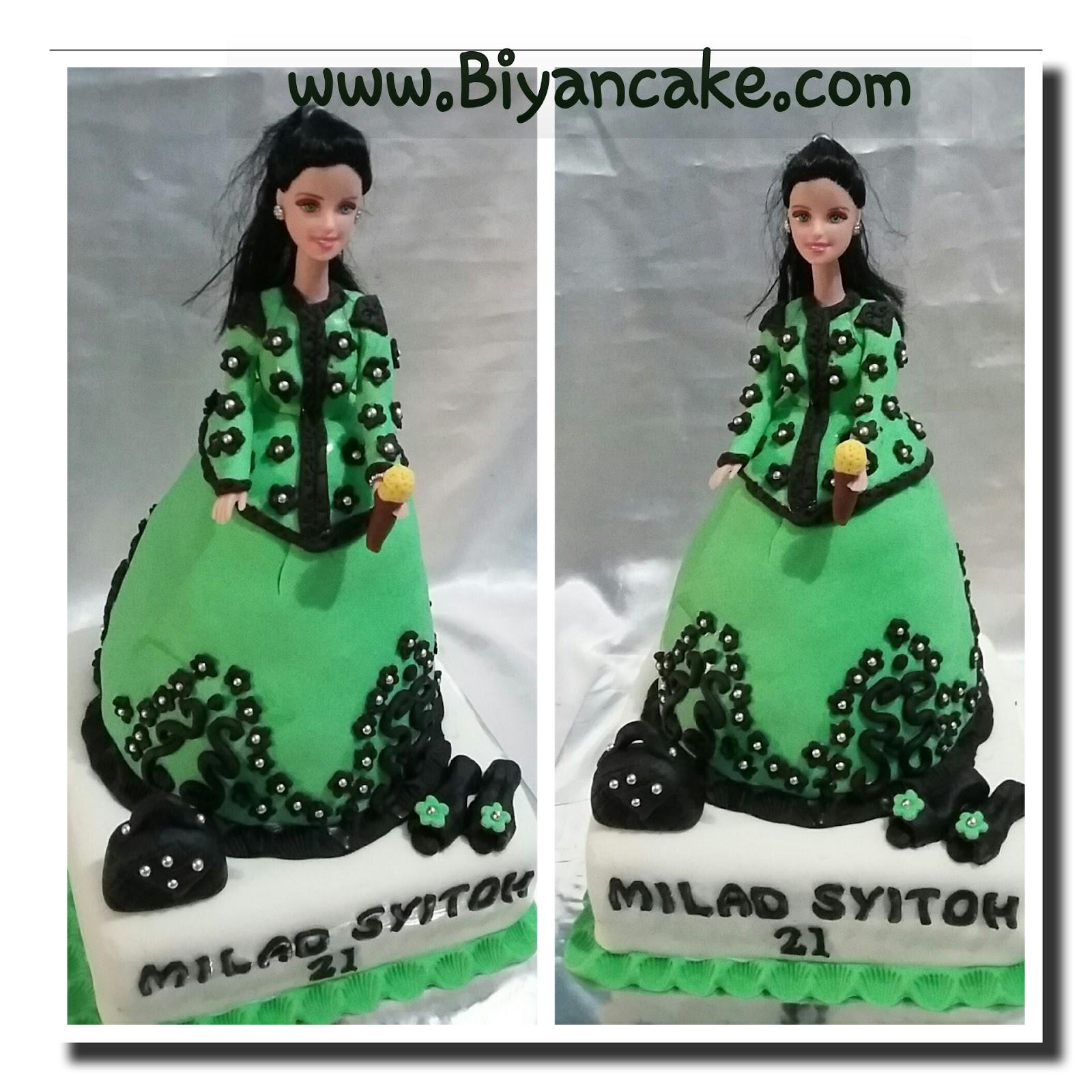 Barbie cake ~ Masyitoh