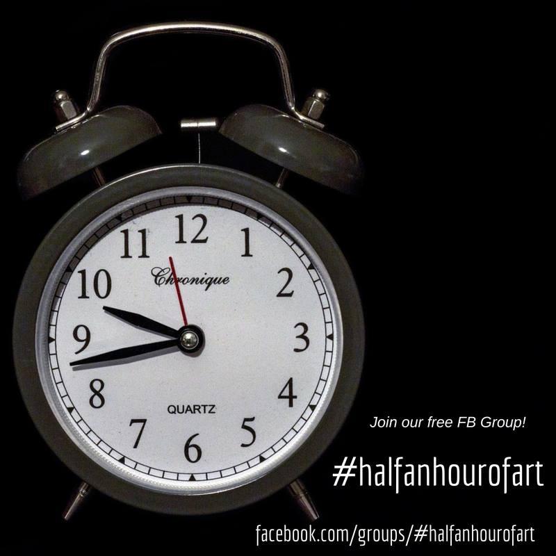 #halfanhourofart