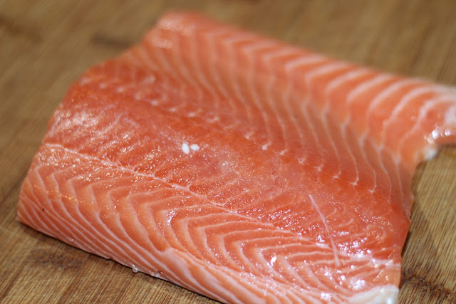 Fresh Salmon for Smoked Salmon Cream Cheese
