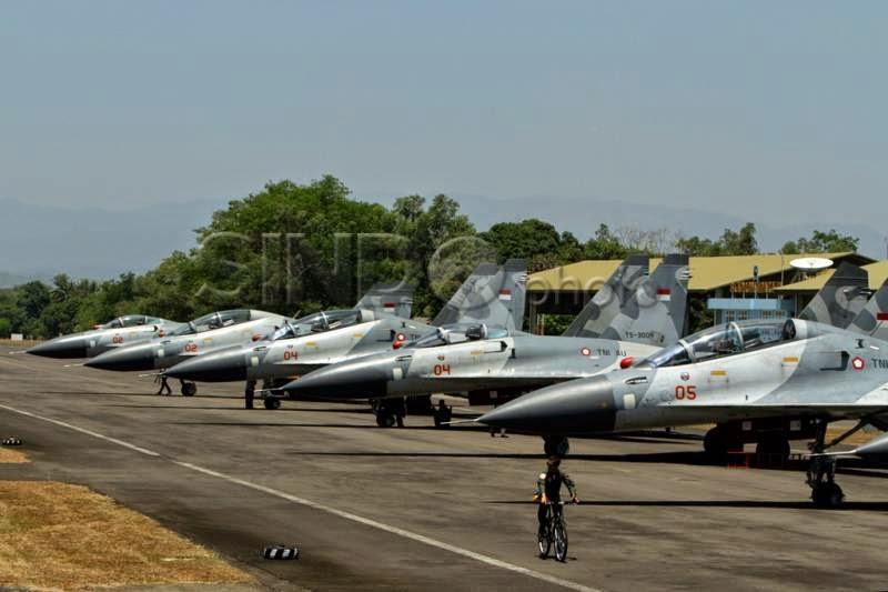 222 Pesawat TNI Masuk Juanda pada 21 September 2014