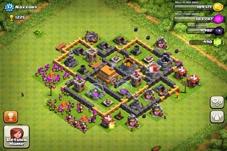 Base Town Hall Level 6