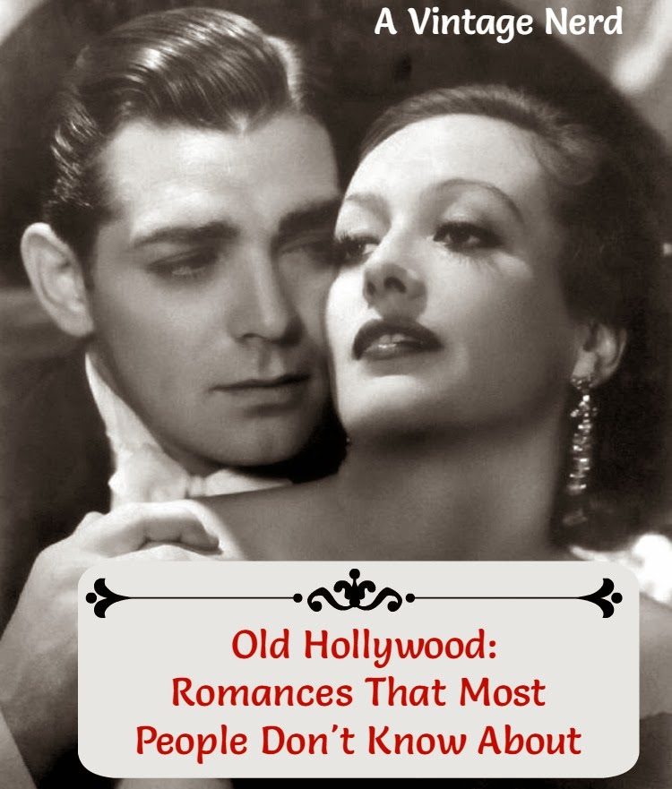 A Vintage Nerd, Classic Film Blog, Old Hollywood Blog, Old Hollywood Romances, Vintage Blog