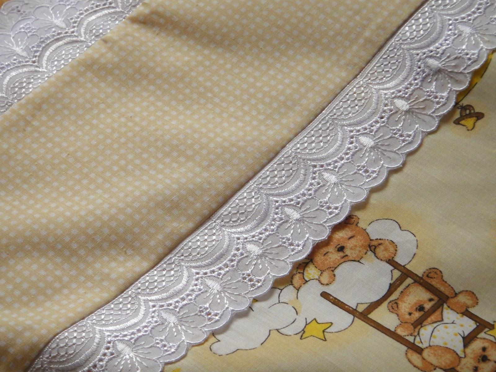 Натуральное постельное белье для новорожденного: хлопок, кружево