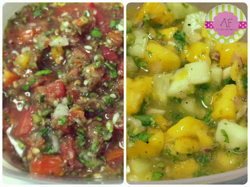 Tomato and Mango Salsa