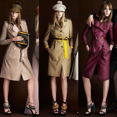 "Looks-from-the-Burberry-Prorsum-Resort-2012-collection Solange Knowles en total look Burberry pour le lancement du parfum ""Burberry Body"""