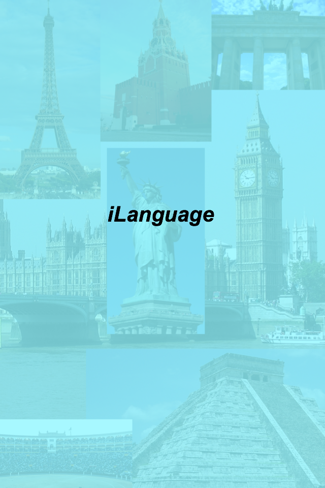 iLanguage App for iPhone