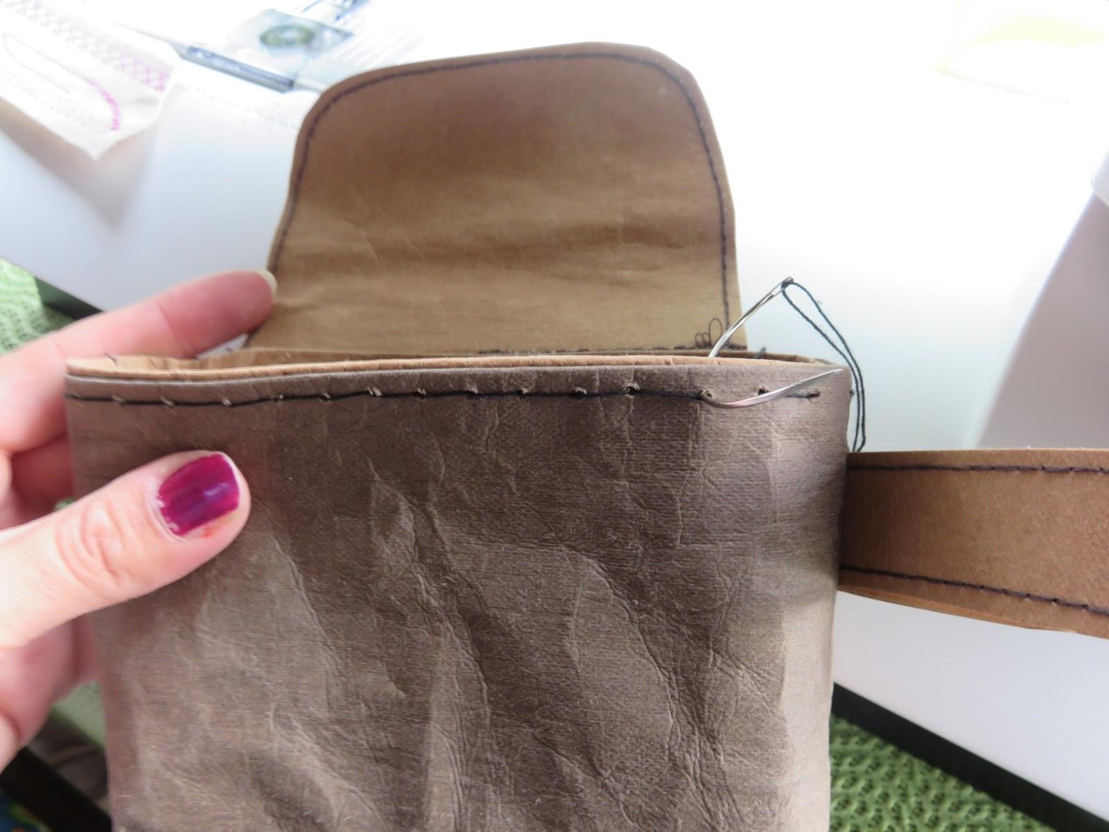 Stickuhlinchen Snappap Das Neue Papier In Lederoptik Von