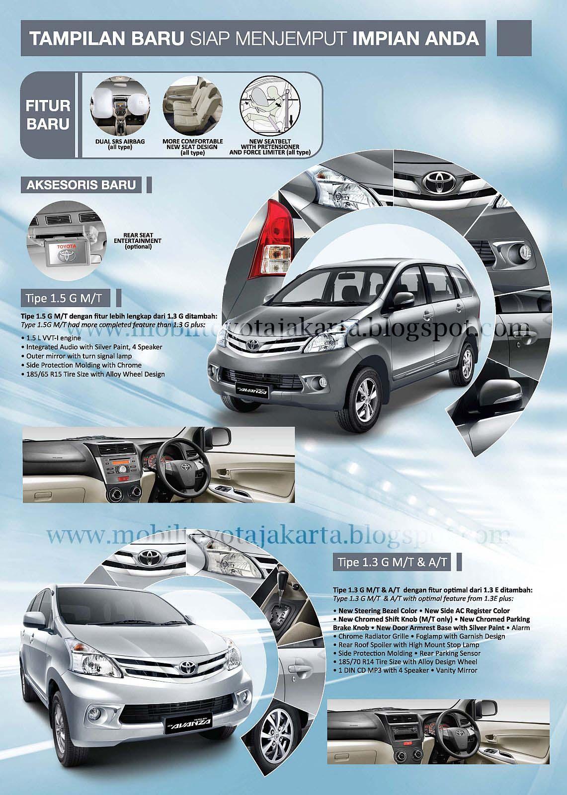 All New Avanza Brosur Jual Mobil Toyota