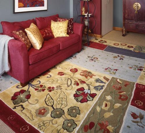 Muebles y decoraci n de interiores tapetes y alfombras para la decoraci n de la sala y otras - Casa de las alfombras ...