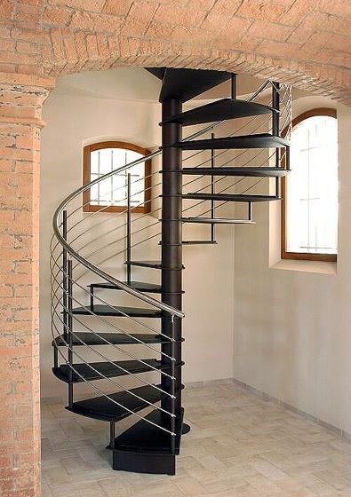 Escaleras de interiores ideas para decorar dise ar y - Escalera en espiral ...