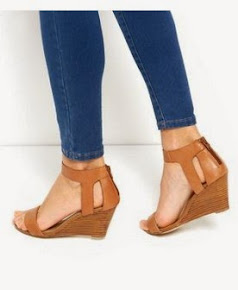 Tan Wedge Heels
