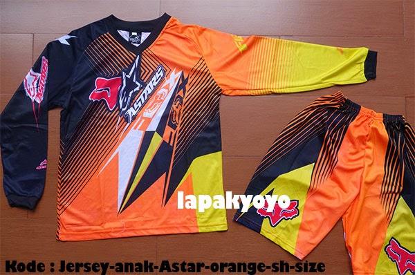 Jersey sepeda / motocross anak