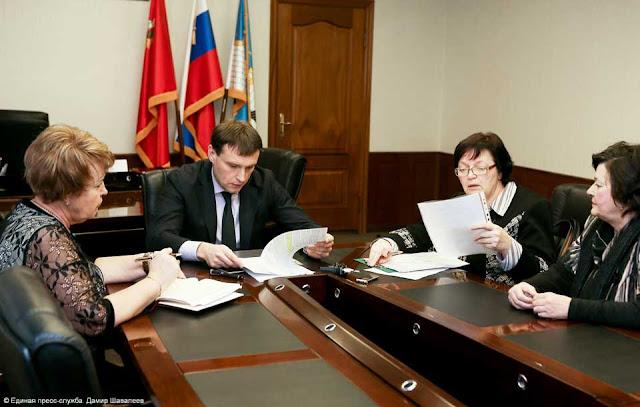 Глава района провёл личный приём граждан Сергиев Посад