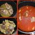 Coda di vitellone con piselli e patate