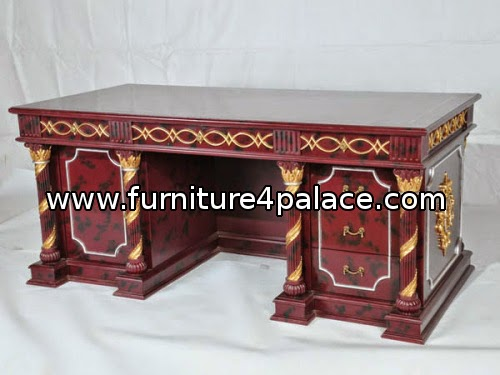 luxury classic wooden furniture for office.