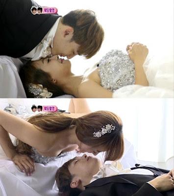 K-addicters: We Got Married- Khuntoria Wedding dress photo