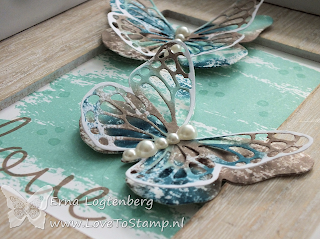 butterfly stampinup lovetostamp watercolor wash