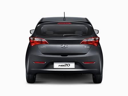 novo Hyundai HB20 2014 traseira
