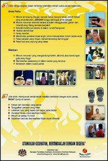 Informasi Kesihatan Cuaca Panas