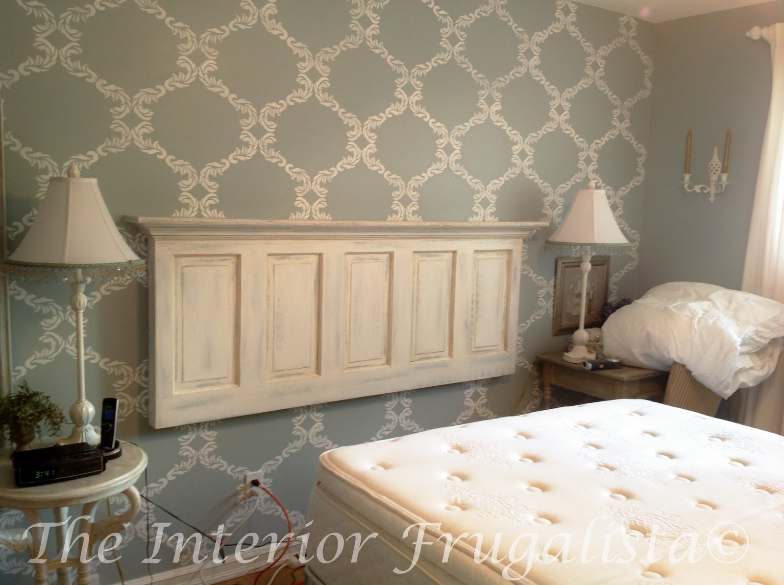 How To Turn An Old Door Into A Headboard The Interior