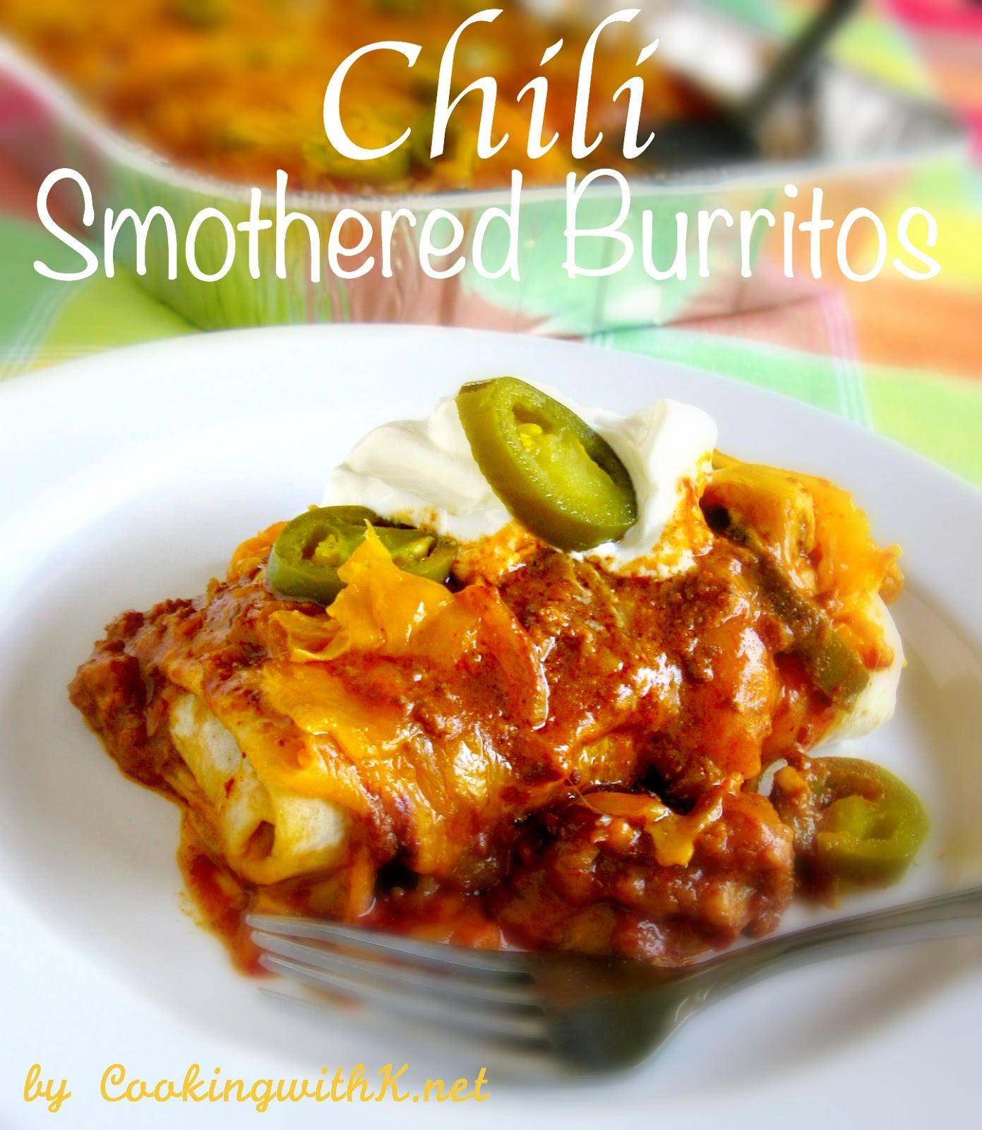 how to make smothered breakfast burritos