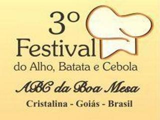 3º Festival ABC da Boa Mesa de Cristalina