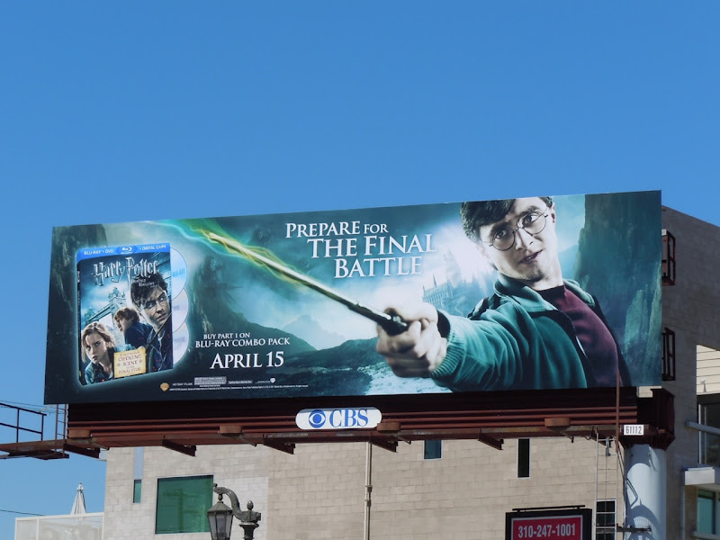 Harry Potter Deathly Hallows Part 1 billboard