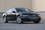 The 2013 Audi A7 has official release nearly a year ago in the public.