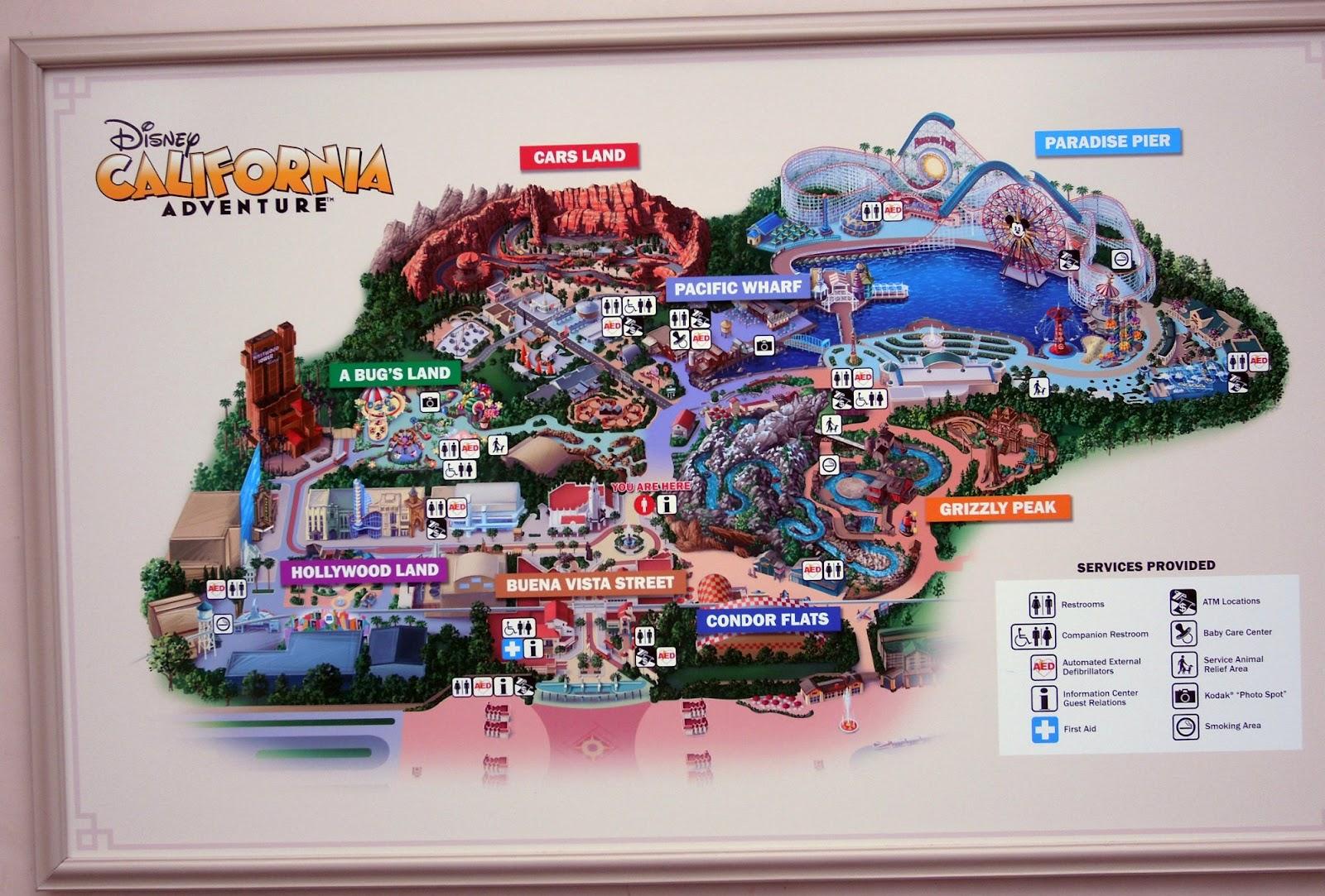 CuterMousecom A CuterMouse View Of Disney New Disney California - Disneyland usa location map