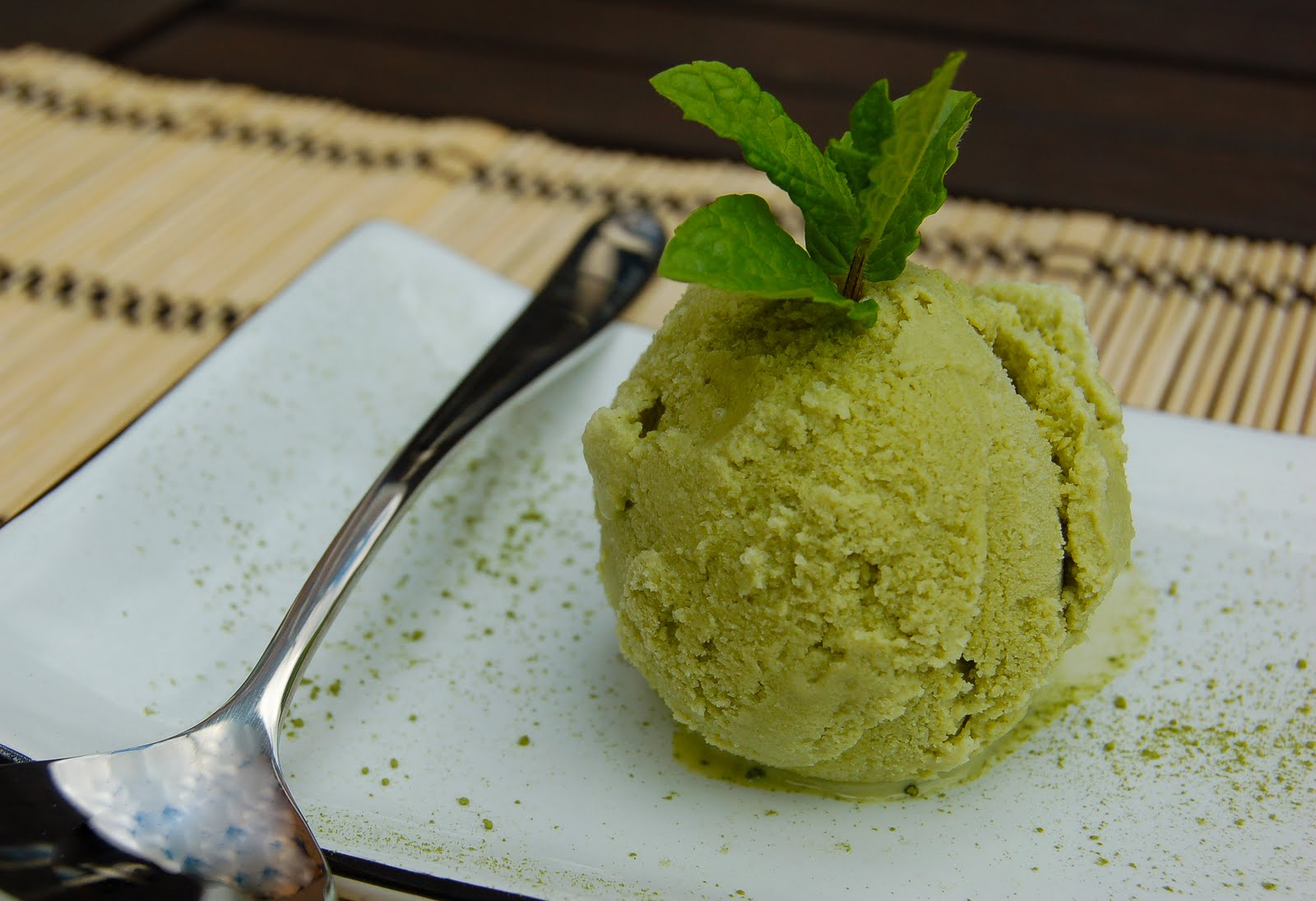 Lyons made: A simply delicious Green Tea Ice Cream recipe.