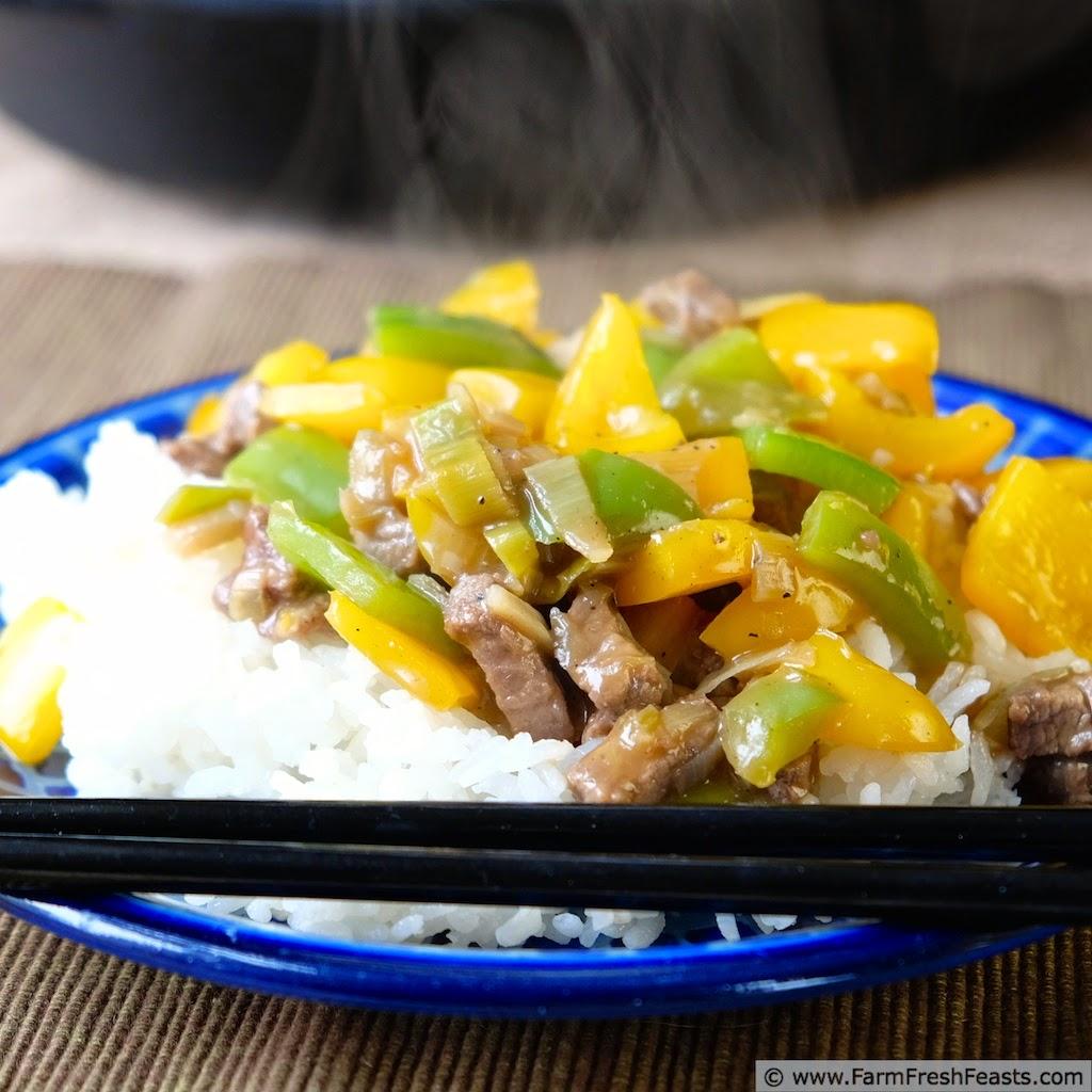 Teriyaki Peppers from Farm Fresh Feasts
