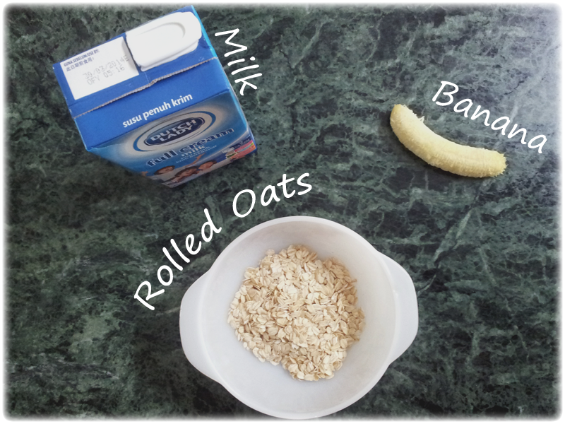 Healthy breakfast oats recipe