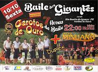 Rio bonito do Iguaçu:Baile dos Gigantes dia 10 de outubro