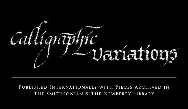 Calligraphic Variations