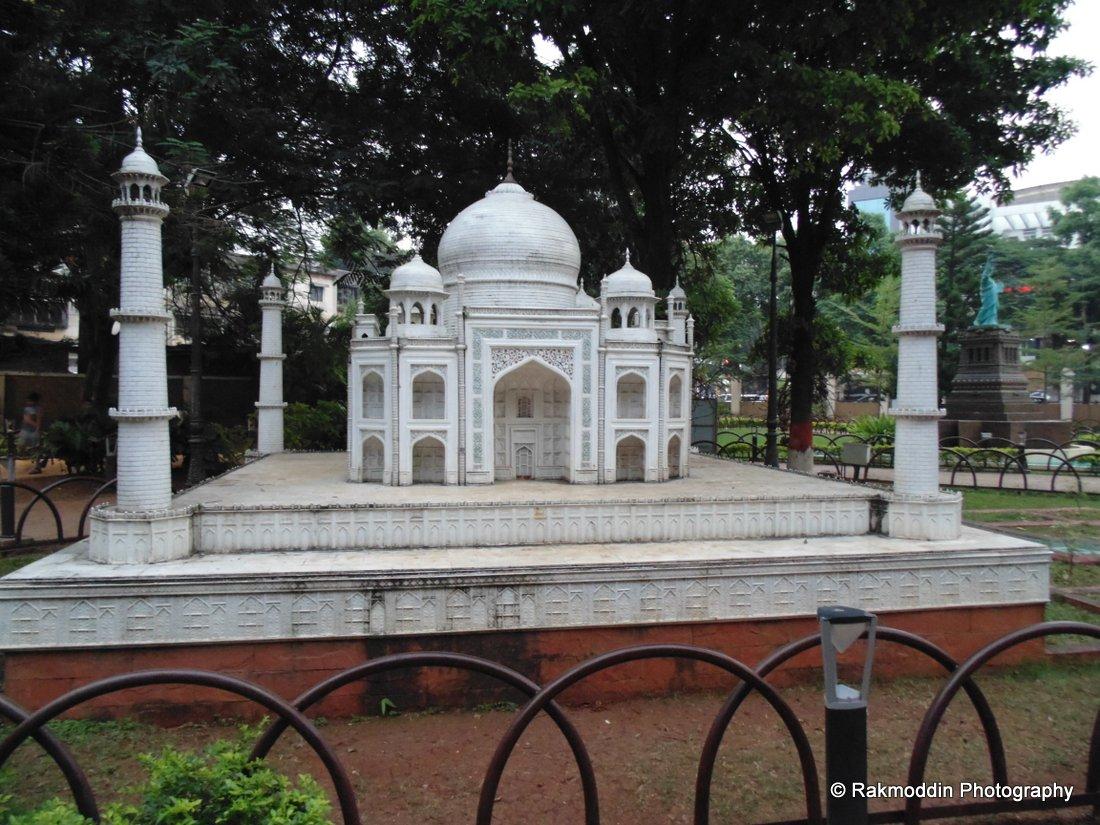 Taj Mahal Seven Wonders of the world in Yashwantrao Park in Pune