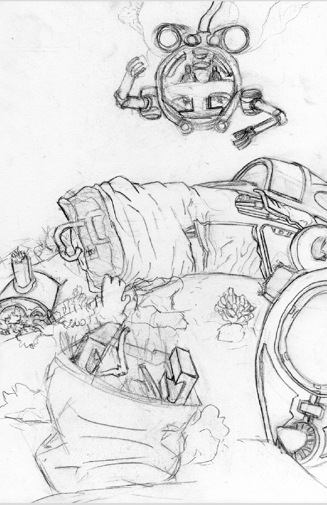 IOW #31: Spaceship Wreck
