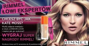 Konkurs 30x zestaw kosmetyków Rimmel