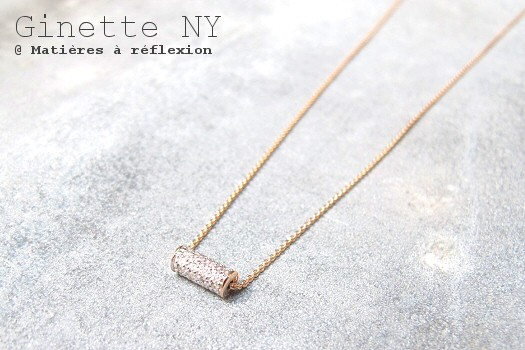 Collier Straw diamond Ginette