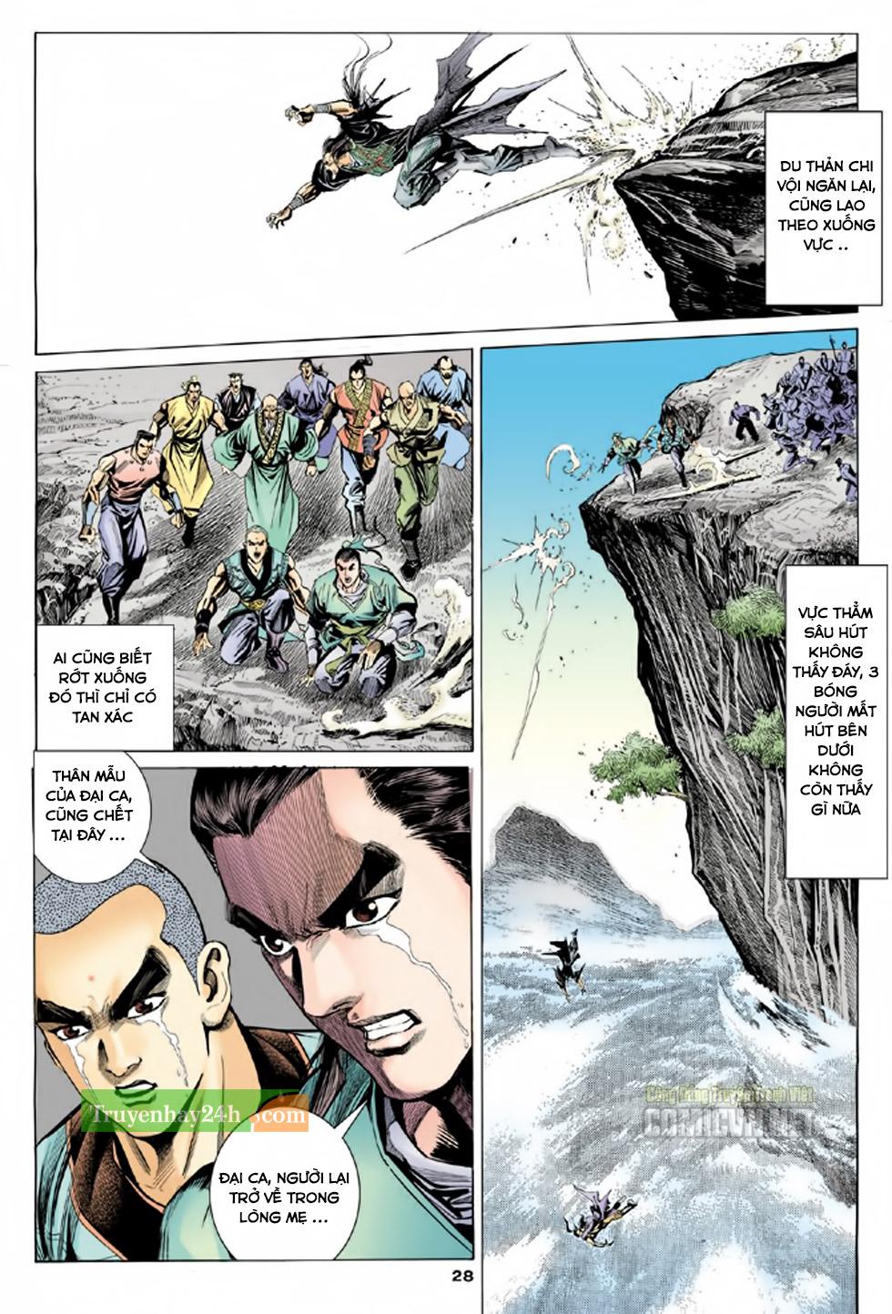 Thiên Long Bát Bộ chap 100 - Trang 29