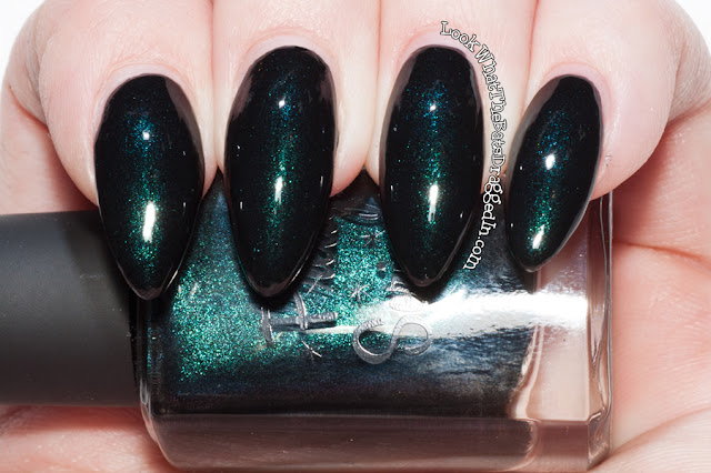 Pretty Serious Cosmetics Tux nail polish swatch